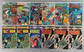 Group of 12 DC Comics Comic Books