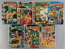 Group of 7 DC Comics Shade the Changing Man Comic Books
