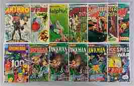 Group of 13 DC Comics Showcase Present Comic Books