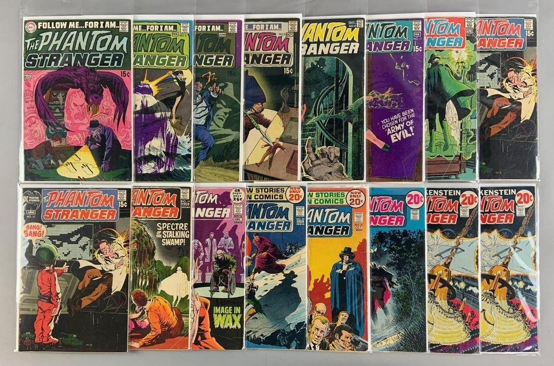 Group of 16 DC Comics The Phantom Stranger Comic Books