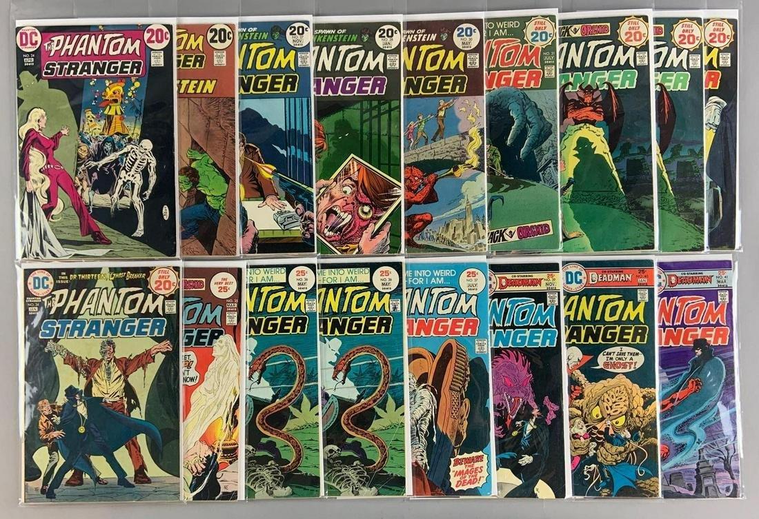 Group of 17 DC Comics The Phantom Stranger Comic Books