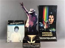 Group of 3 pieces vintage Michael Jackson items