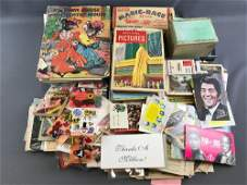 Group of 250+ pieces miscellaneous antique and vintage