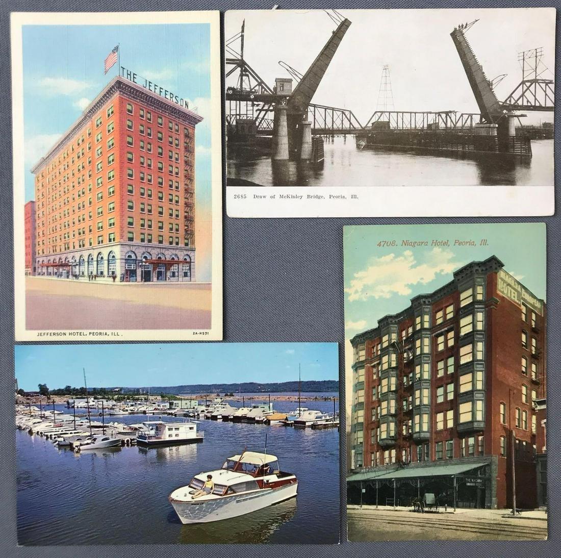 Postcards-Peoria, IL