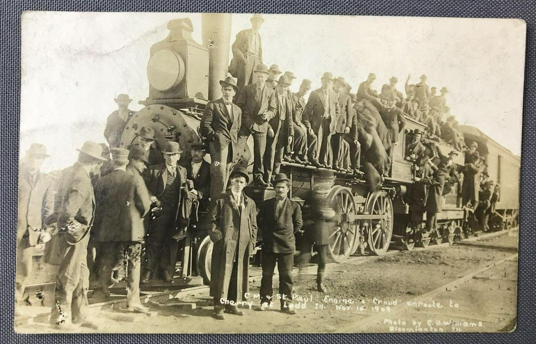 Postcards-RPPCs, Cherry Mine Disaster