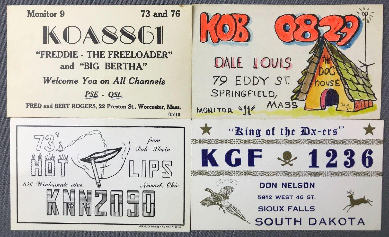 Postcards-QSL/Ham Radio