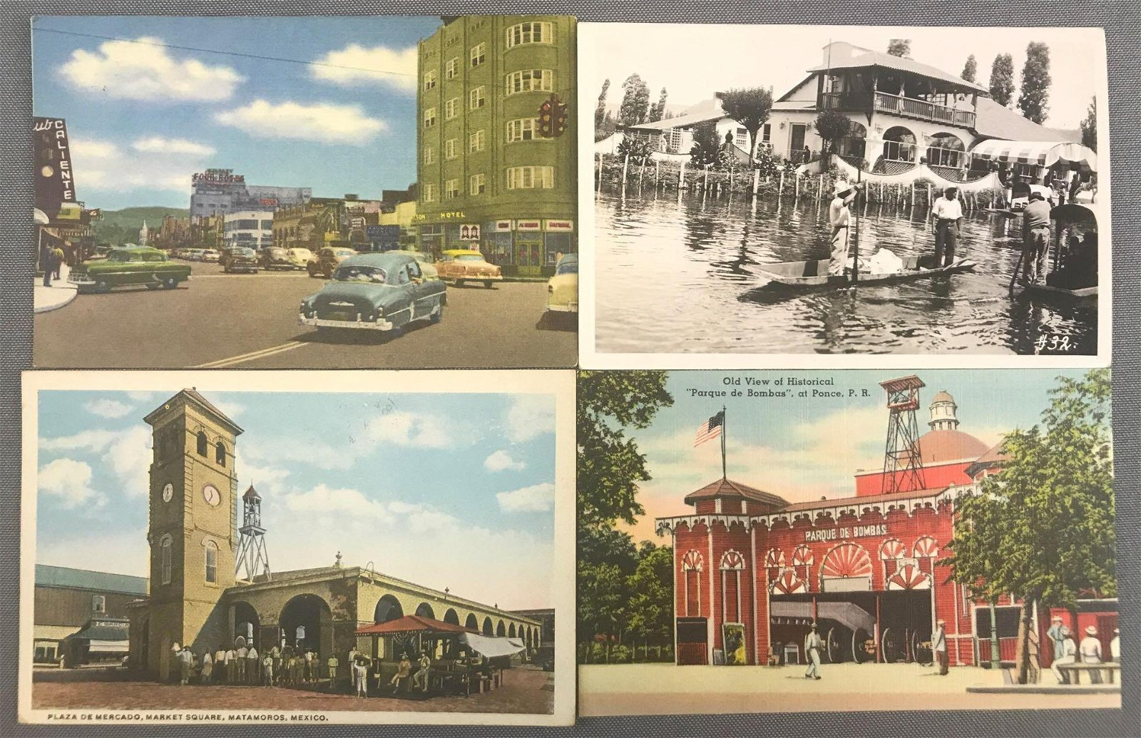 Postcards-South America and Mexico