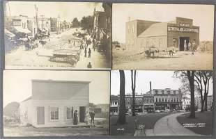 Postcards-Street Scenes, Factories