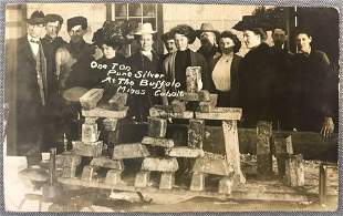 Postcard-Buffalo Mines Silver