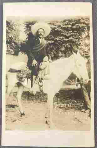 Postcard-General Francisco Pancho Villa