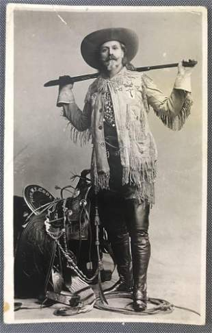 Postcard-W.F. Buffalo Bill Cody