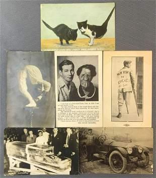Postcards-Unusual, Freak Show, Crippled