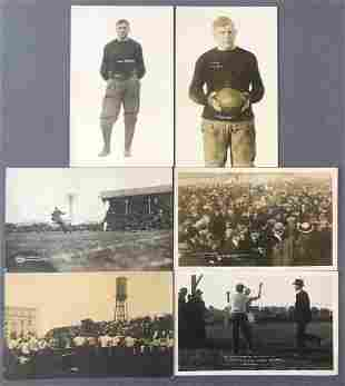 Postcards-College sports/athletes