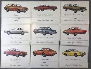 Postcards-Chevrolet Advertising