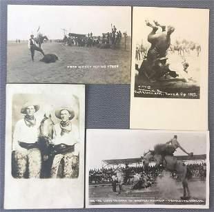 Postcards-Cowboys, Rodeos, Fairs