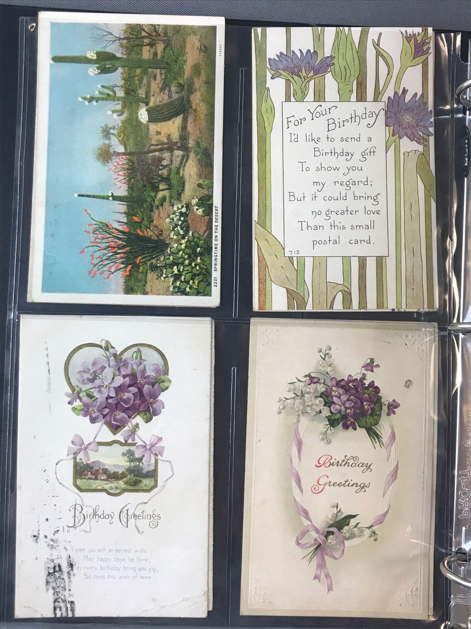 Postcards-Binder-Miscellaneous