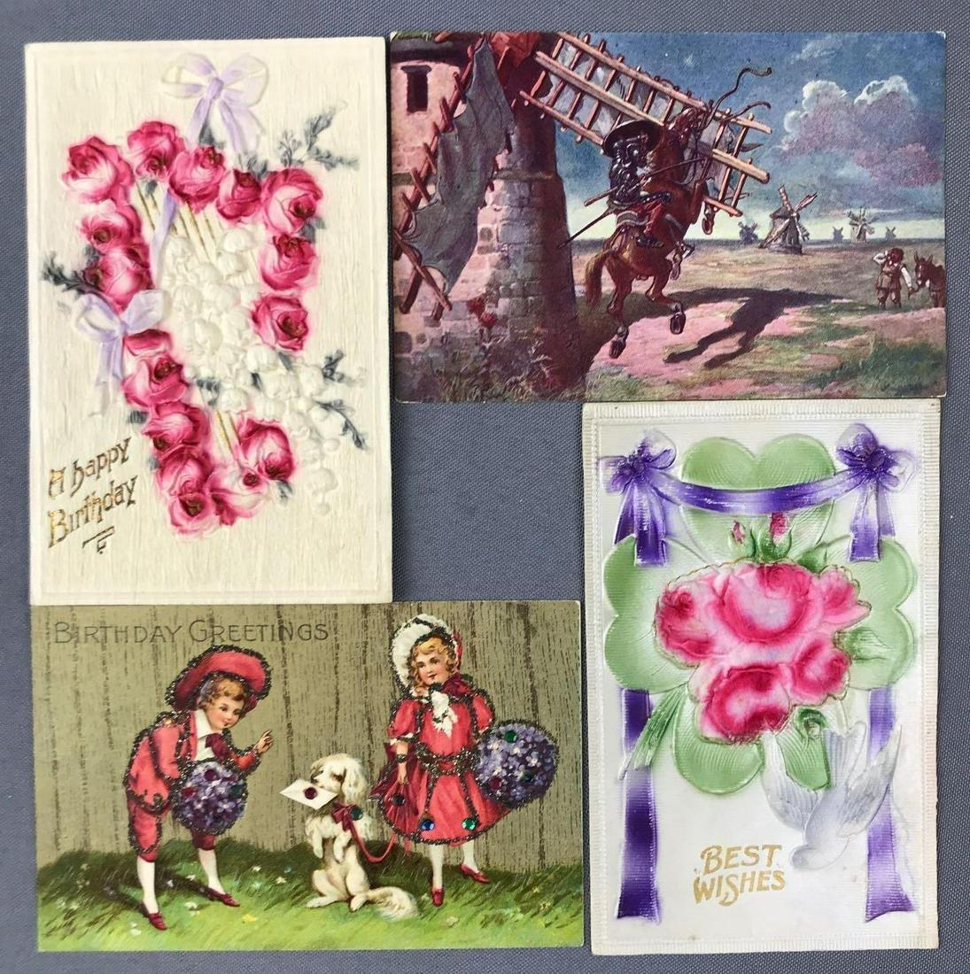 Postcards-Box Lot-Miscellaneous