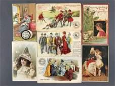 Group of Appx 40 pieces vintage advertising ephemera