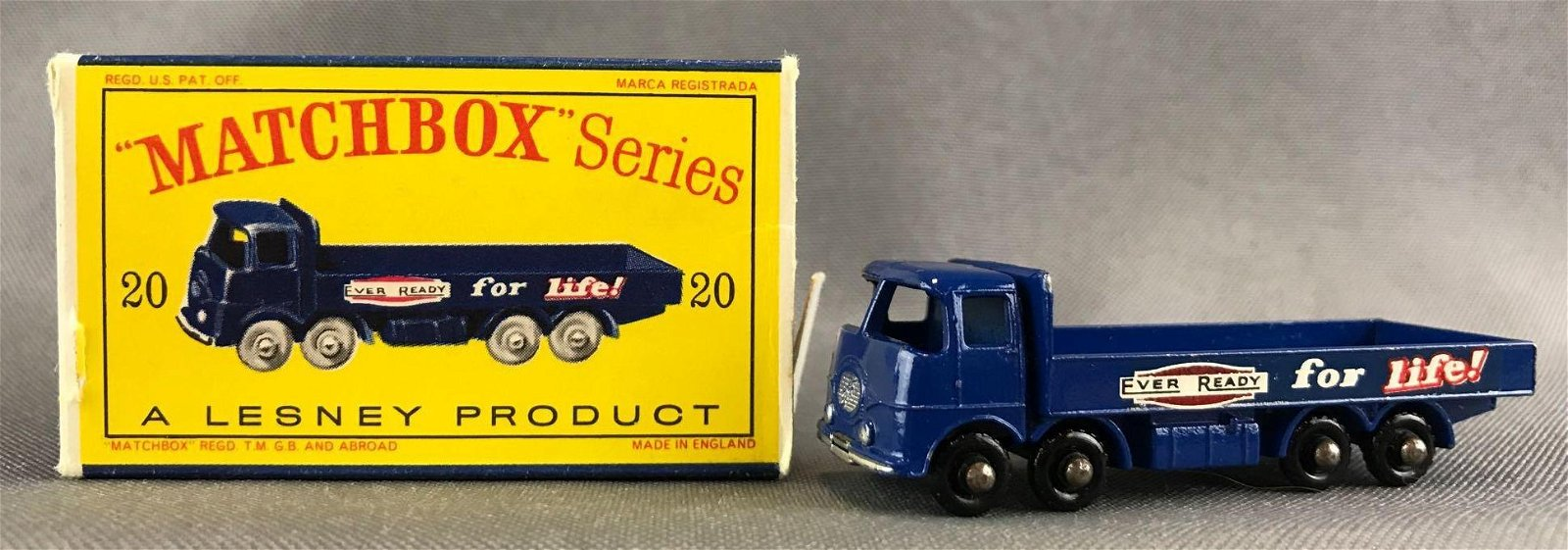 Matchbox No. 20 Transport Truck Die-Cast Vehicle with