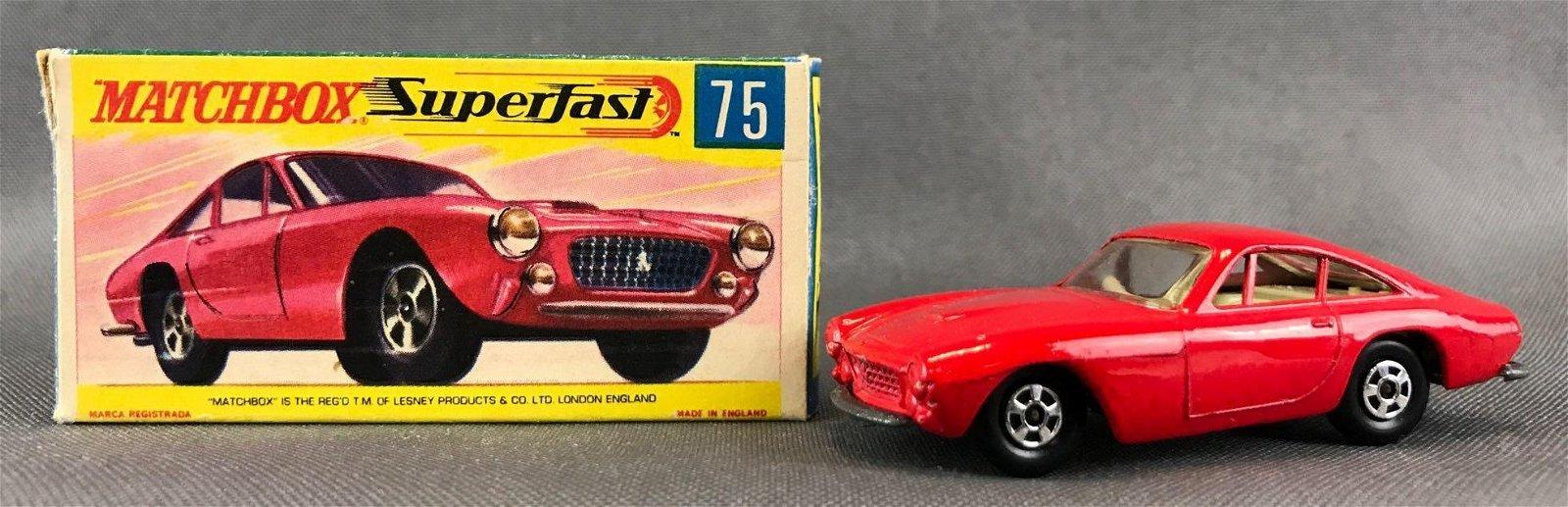 Matchbox Superfast No. 75 Ferrari Berlinetta Die-Cast