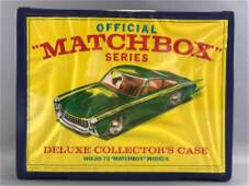 Official Matchbox Series Deluxe Collectors Case