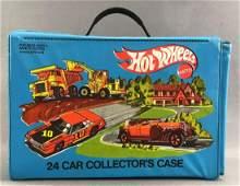 Hot Wheels 24 Car Collectors Case and Contents