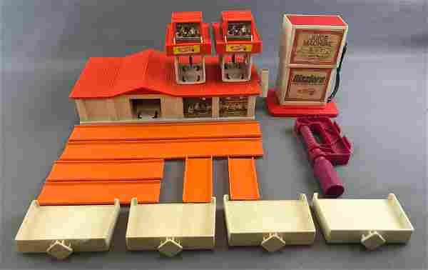 Group of 15 Assorted Hot Wheels Play Set and Track