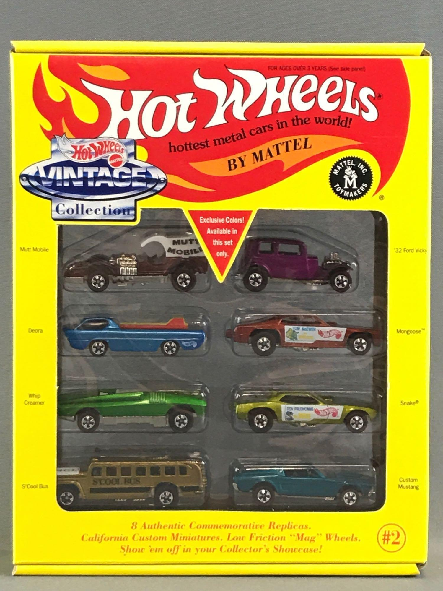 Hot Wheels Vintage Collection Series 2 Die-Cast
