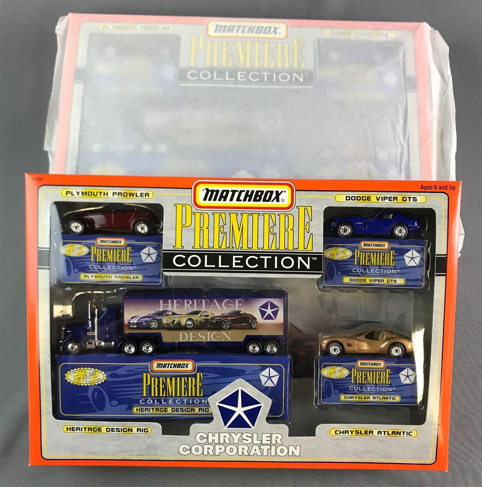 Matchbox Premier Collection Die Cast Vehicle Gift Sets