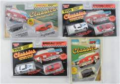 Group of 2 Tyco Classics Magnum 440X2 Slot Cars in