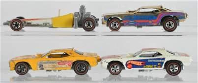 Group of 4 Hot Wheels Redlines Die-Cast Vehicles