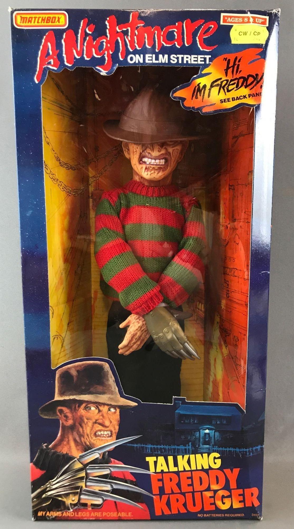Matchbox A Nightmare on Elm Street Talking Freddy