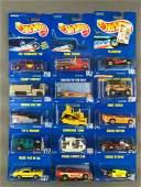 Group of 15 Hot Wheels Die-Cast Vehicles in Original