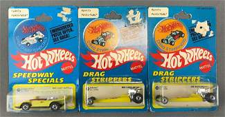 Group of 3 Hot Wheels Drag Strippers and Speedway