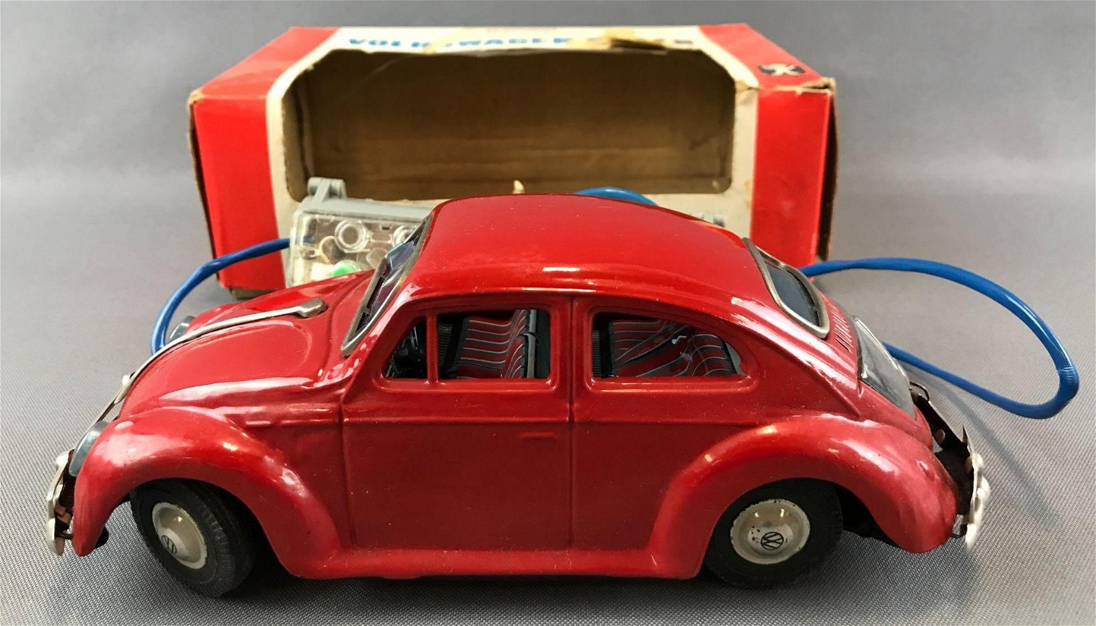 Bandai Battery Powered Remote Control Volkswagen Sedan