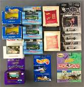 Group of 14 Assorted Die-Cast Vehicles and More