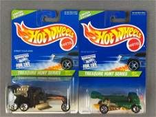 Group of 2 Hot Wheels Limited Edition Treasure Hunt