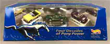 Hot Wheels Collectibles Ford Four Decades of Pony Power