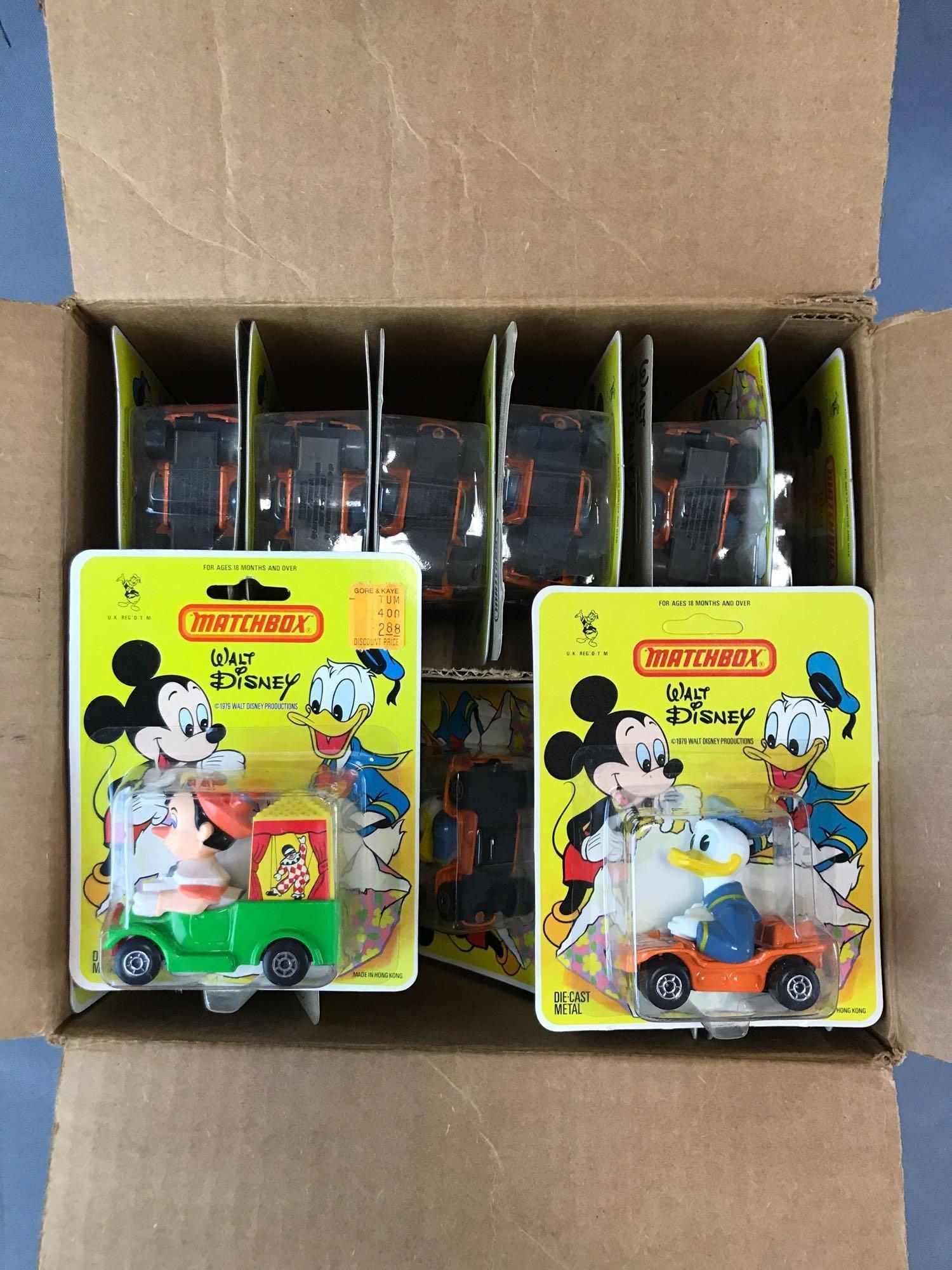 Group of Approximately 20 Matchbox Walt Disney Die-Cast