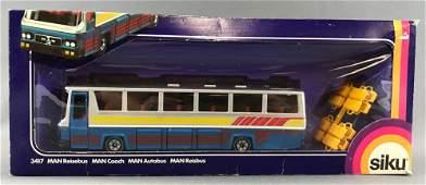 Siku No 3417 MAN Coach DieCast Vehicle in Original