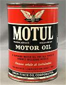 Vintage  Motul Motor Oil Can