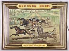 Vintage Genesee Beer Lightup Advertising Sign
