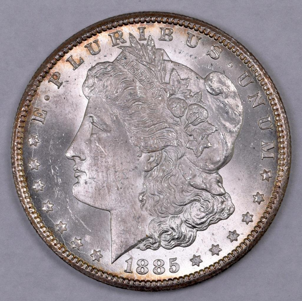1885 CC Morgan Silver Dollar.