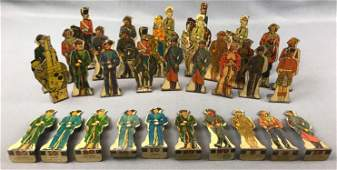 Group of Vintage Marx Toys, Tin Litho Soldiers + more
