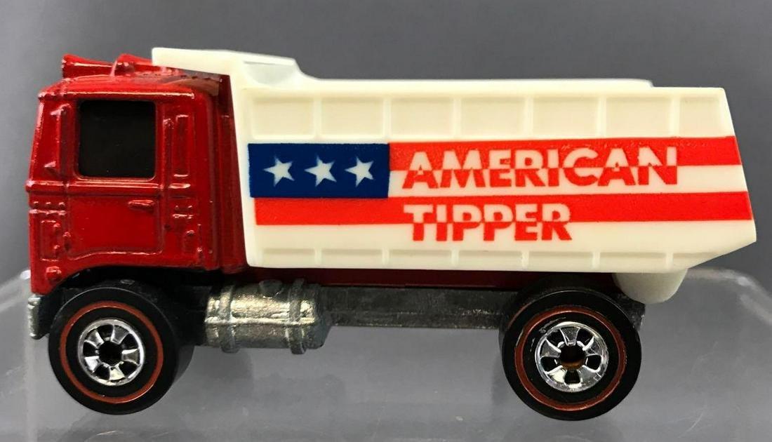 Hot Wheels Redlines American Tipper Dump Truck Die-Cast