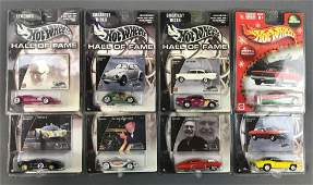 Group of 8 Hot Wheels DieCast Vehicles