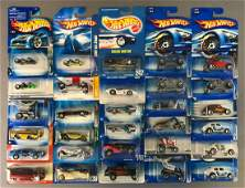 Group of 30 Hot Wheels DieCast Vehicles