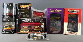 Group of 8 Hot Wheels Collectibles Die-Cast Vehicles