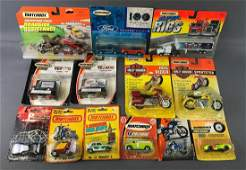 Group of 14 Assorted Matchbox Die-Cast Vehicles/Sets in