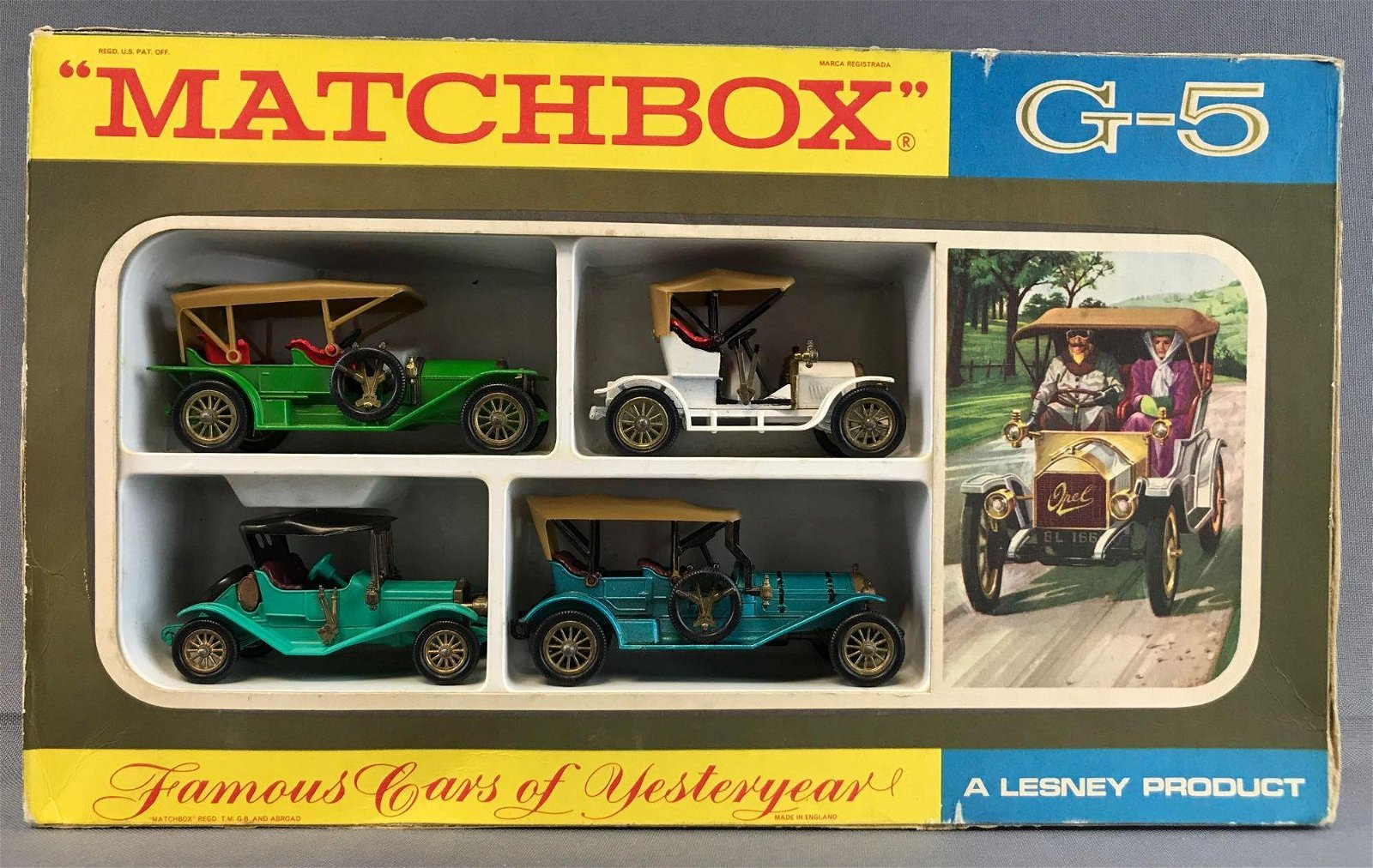 Matchbox Famous Cars of Yesteryear Die-Cast Vehicles